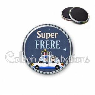 Magnet 56mm Super frère (031BLE01)