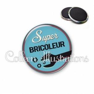 Magnet 56mm Super bricoleur (032BLE02)