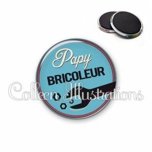 Magnet 56mm Papy bricoleur (032BLE02)