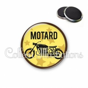 Magnet 56mm Motard (032JAU01)