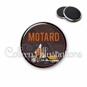 Magnet 56mm Motard (032MAR03)