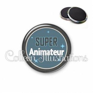 Magnet 56mm Super animateur (034BLE01)