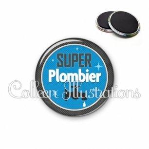 Magnet 56mm Super plombier (034BLE03)