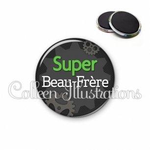Magnet 56mm Super beau-frère (038GRI01)
