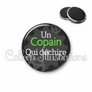 Magnet 56mm Copain qui déchire (038GRI01)