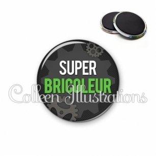 Magnet 56mm Super bricoleur (038GRI01)