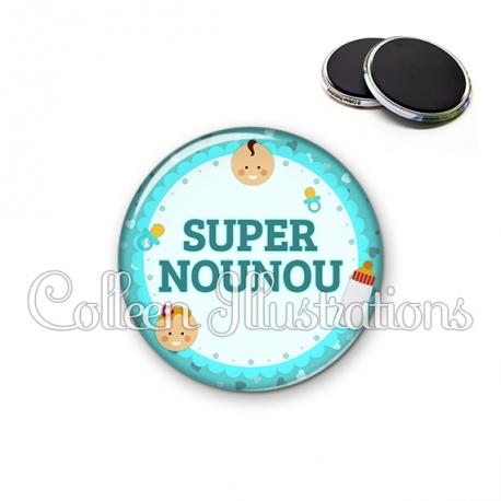 Magnet 56mm Super nounou (044BLE01)