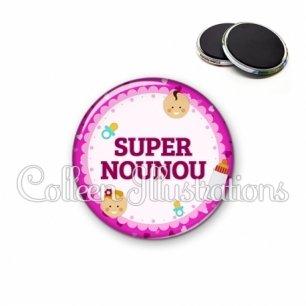 Magnet 56mm Super nounou (044ROS02)
