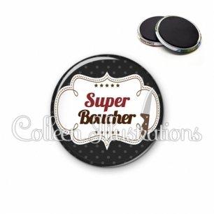 Magnet 56mm Super boucher (045NOI01)