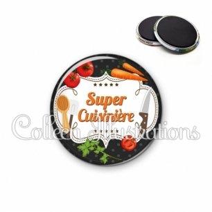 Magnet 56mm Super cuisinière (045NOI05)