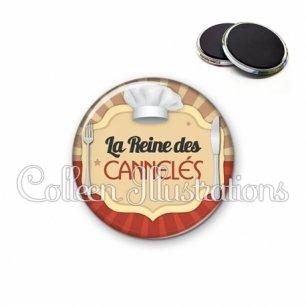 Magnet 56mm La reine des cannelés (048MAR01)