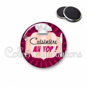 Magnet 56mm Cuisinière au top (048ROS01)