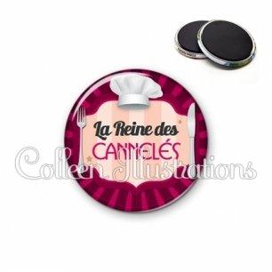 Magnet 56mm La reine des cannelés (048ROS01)
