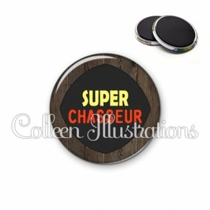 Magnet 56mm Super chasseur (050MAR01)