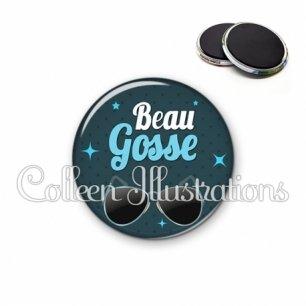 Magnet 56mm Beau gosse (053BLE01)
