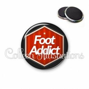 Magnet 56mm Foot addict (055ROU01)