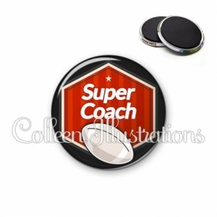 Magnet 56mm Super coach (055ROU02)