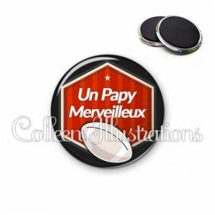 Magnet 56mm Papy merveilleux (055ROU02)