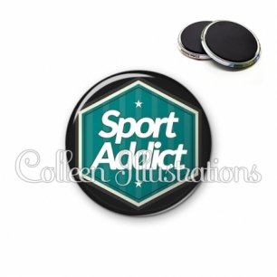 Magnet 56mm Sport addict (055VER01)