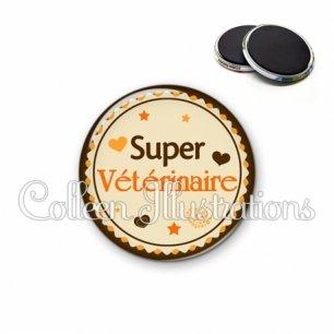 Magnet 56mm Super vétérinaire (064MAR01)