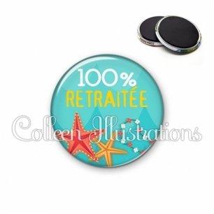Magnet 56mm 100% retraitée (069BLE01)