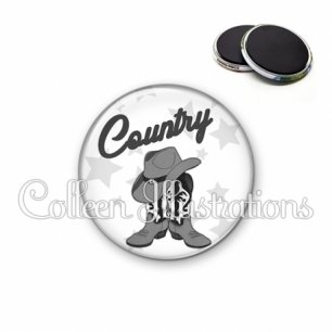 Magnet 56mm Danse country (071BLA01)