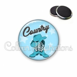 Magnet 56mm Danse country (071BLE01)
