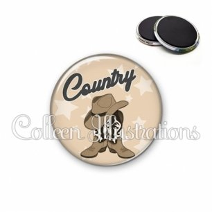 Magnet 56mm Danse country (071MAR01)