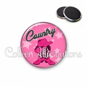 Magnet 56mm Danse country (071ROS01)