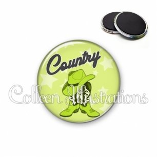 Magnet 56mm Danse country (071VER01)