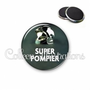 Magnet 56mm Super pompier (072VER01)