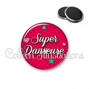 Magnet 56mm Super danseuse (074ROU01)