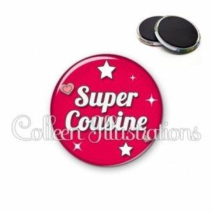 Magnet 56mm Super cousine (074ROU02)