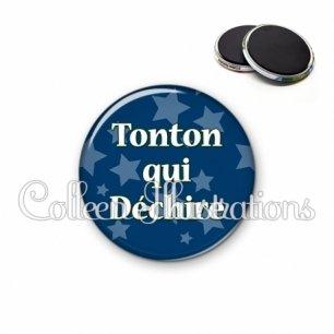 Magnet 56mm Tonton qui déchire (078BLE02)