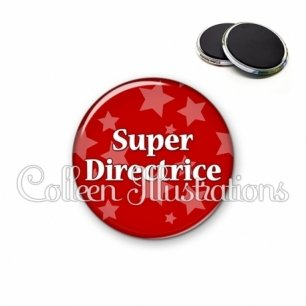 Magnet 56mm Super directrice (078ROU01)