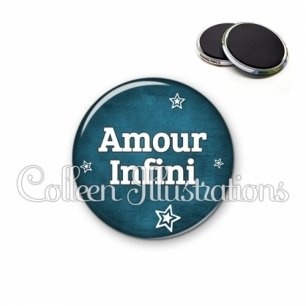 Magnet 56mm Amour infini (079BLE01)