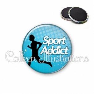 Magnet 56mm Sport addict (082BLE01)