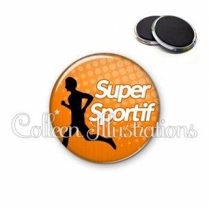 Magnet 56mm Super sportif (082ORA01)