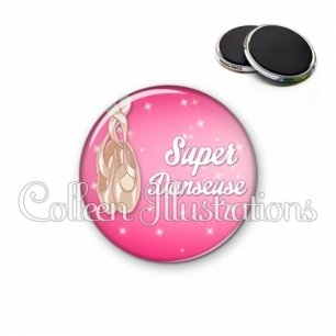 Magnet 56mm Super danseuse (083ROS06)
