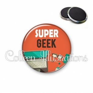 Magnet 56mm Super geek (088ORA01)