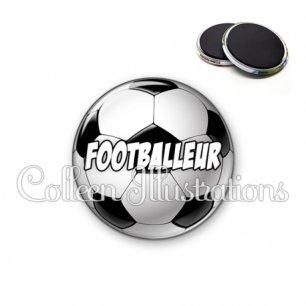 Magnet 56mm Footballeur (089MUL01)
