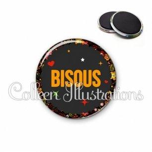 Magnet 56mm Bisous (101NOI01)