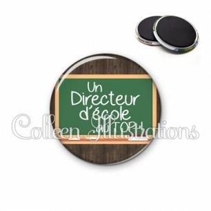 Magnet 56mm Directeur d'école au top (104MAR01)