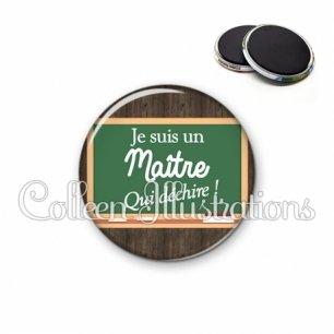 Magnet 56mm Maître qui déchire (104MAR01)