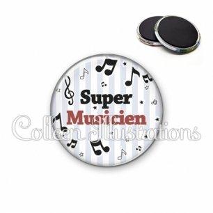 Magnet 56mm Super musicien (108GRI01)
