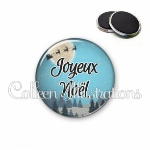 Magnet 56mm Joyeux Noël (112BLE01)