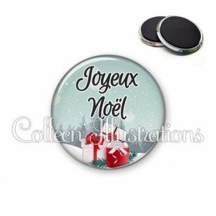Magnet 56mm Joyeux Noël (113BLE01)