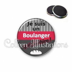 Magnet 56mm Boulanger qui déchire (132GRI01)