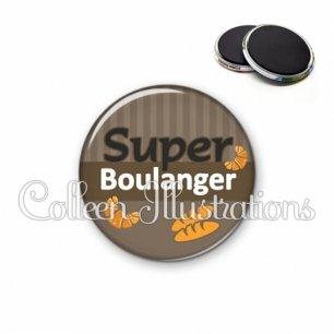 Magnet 56mm Super boulanger (132MAR01)