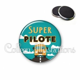Magnet 56mm Super pilote (136VER01)